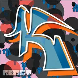 Digital Graffiti Letter K Awesome Letter K