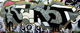 react graffiti, rob larsen, drunkenfist.com